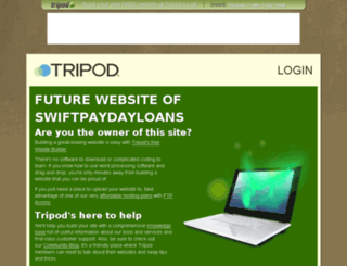 swiftpaydayloans.tripod.co.uk screenshot
