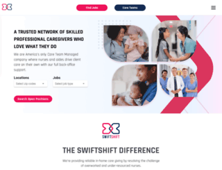 swiftshift.com screenshot
