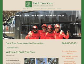 swifttreecare.com screenshot