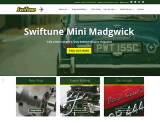 swiftune.com screenshot