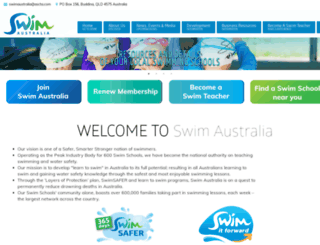 swimaustralia.org.au screenshot