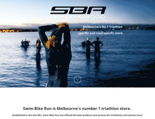 swimbikerunaustralia.com.au screenshot