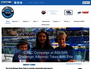 swimcssc.com screenshot