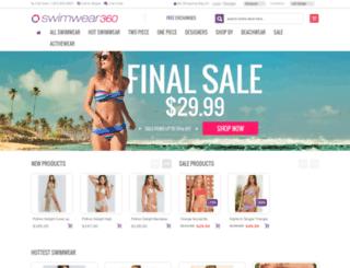 swimwear360.com screenshot