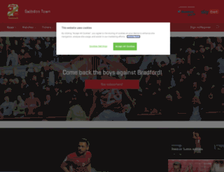 swindontownfc.co.uk screenshot