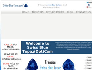 swissbluetopaz.com screenshot