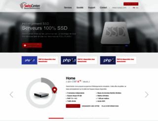 swisscenter.com screenshot