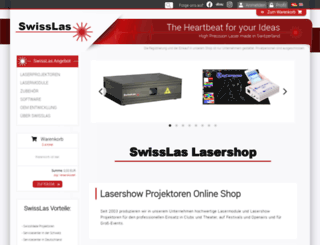 swisslas-laser.com screenshot