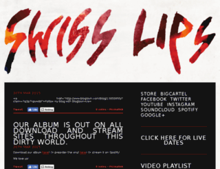 swisslips.com screenshot