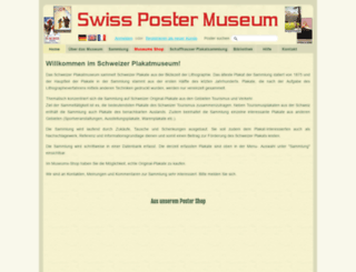 swisspostermuseum.com screenshot