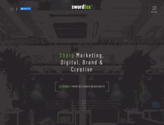 swordfox.co.nz screenshot