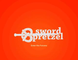 swordpretzel.com screenshot