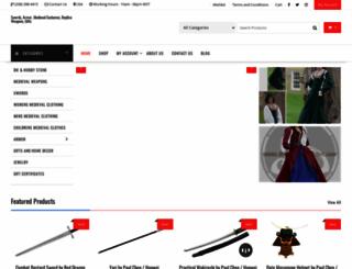 swordsofhonor.com screenshot