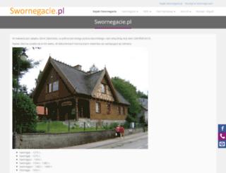 swornegacie.pl screenshot