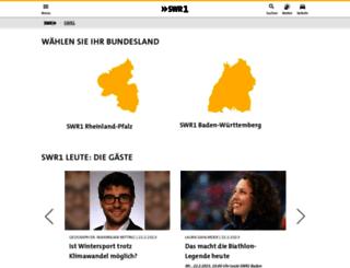 swr1.de screenshot