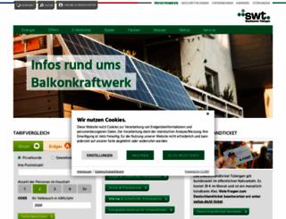 swtue.de screenshot