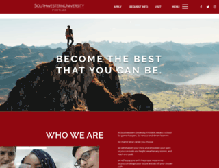 swu.edu.ph screenshot