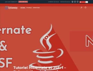 sybaway.com screenshot