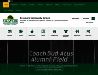 sycamoreschools.org screenshot