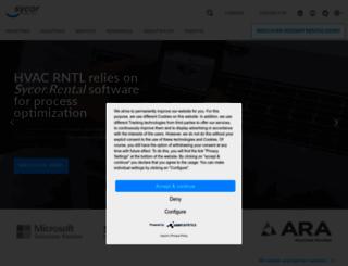 sycor-group.com screenshot