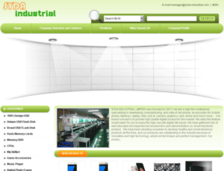 syda-industrial.com screenshot