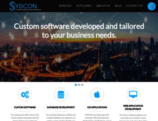 sydcon.com screenshot