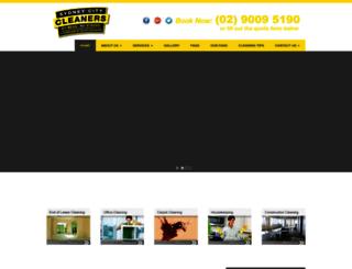sydneycitycleaners.com.au screenshot