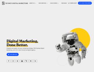 sydneydigitalmarketing.com.au screenshot