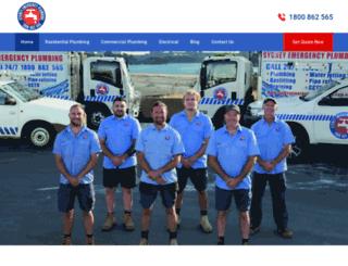 sydneyemergencyplumbing.com.au screenshot