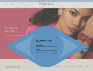 sydneyevan.com screenshot
