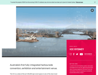 sydneyexhibitioncentre.com.au screenshot