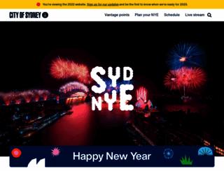sydneynewyearseve.com screenshot