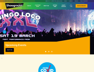 sydneyshowground.com.au screenshot