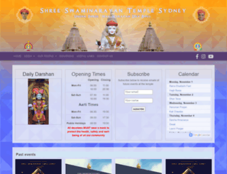 sydneytemple.org screenshot
