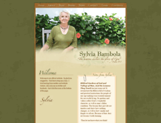 sylviabambola.com screenshot