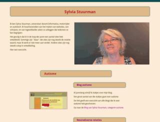 sylviastuurman.nl screenshot
