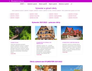 sylwesterwgorach.pl screenshot