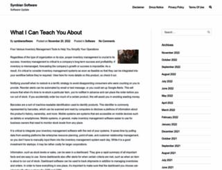 symbiansoftware.us screenshot