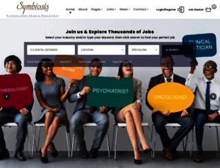 symbiosis.co.za screenshot
