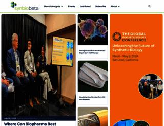 synbiobeta.com screenshot