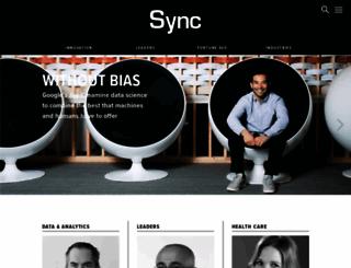 sync-magazine.com screenshot
