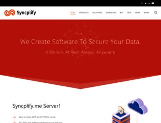 syncplify.me screenshot