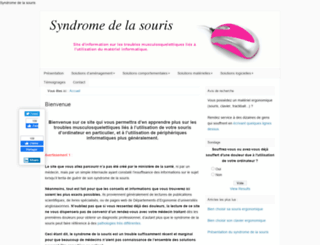 syndromedelasouris.info screenshot