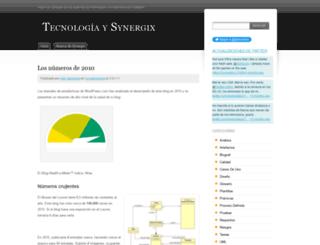 synergix.wordpress.com screenshot