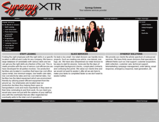 synergyxtr.com screenshot