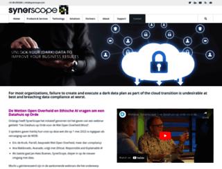 synerscope.com screenshot