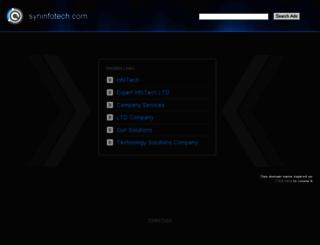 syninfotech.com screenshot