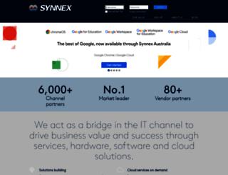 synnex.com.au screenshot