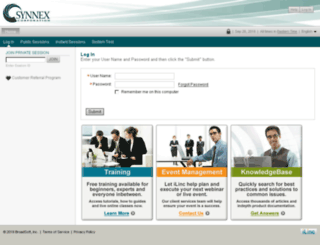 synnex.ilinc.com screenshot