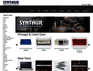 syntaur.com screenshot